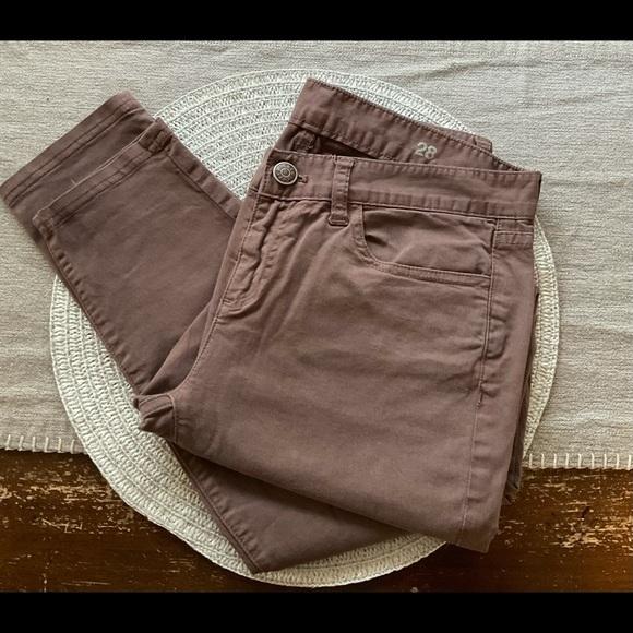 J.Crew- Toothpick Jeans- Size 28